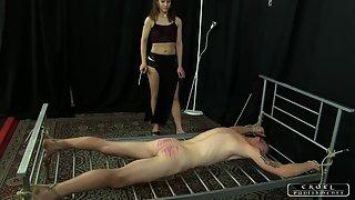CruelPunishments - Ann - Lady Ann's Slave Testing 1 - Caning