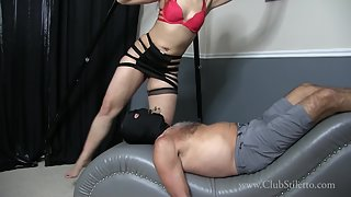 ClubStilleto - Goddess Amelia's Crushing Ass