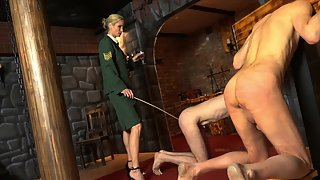 Victoria - Caned On The Pillory