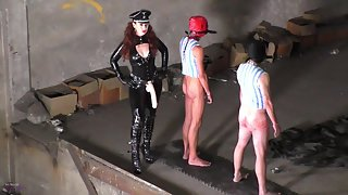 Mistress Lady Renee - Anal chain gang